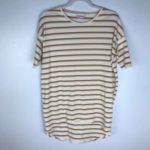 LulaRoe Striped T Shirt